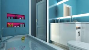 אמבטיה במידטאון תל אביב